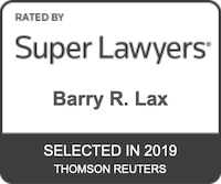Barry R. Lax - Super Lawyers 2019