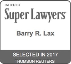 Barry R. Lax - Super Lawyers 2017