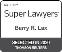 Barry R. Lax - Super Lawyers 2020