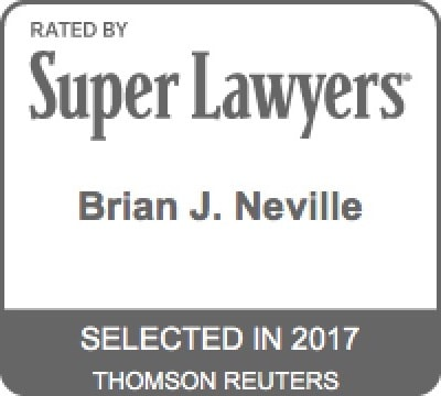 Brian J. Neville - Super Lawyers 2017
