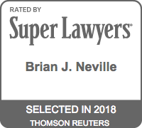 Brian J. Neville - Super Lawyers 2018